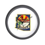 Arizona FBI SWAT Wall Clock