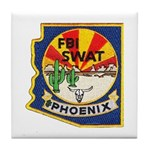 Arizona FBI SWAT Tile Coaster