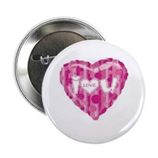 "Cute I love polka dots 2.25"" Button"