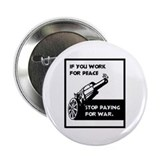 "No War Taxes 2.25"" Button (100 pack)"