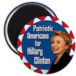 Patriots Americans for Clinton Magnet