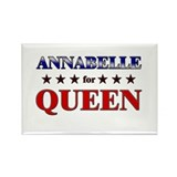ANNABELLE for queen Rectangle Magnet
