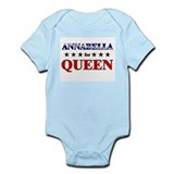 ANNABELLA for queen Onesie