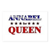 ANNABEL for queen Postcards (Package of 8)