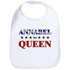 ANNABEL for queen Bib