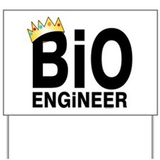 Royal Bioengineer Yard Sign