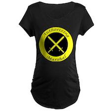Authorizing Marshal Maternity Dark T-Shirt
