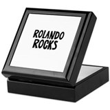 Rolando Rocks Keepsake Box