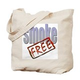 Smoke Free Tote Bag
