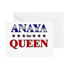 ANAYA for queen Greeting Card