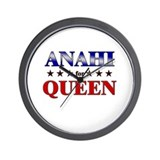 ANAHI for queen Wall Clock
