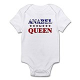 ANABEL for queen Infant Bodysuit