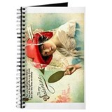 Mirrot Girl Valentine Blank Notebook Journal
