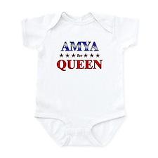 AMYA for queen Infant Bodysuit
