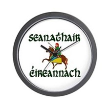 Irish Grandfather (Chieftain) Wall Clock