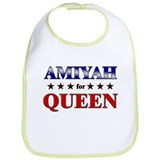 AMIYAH for queen Bib