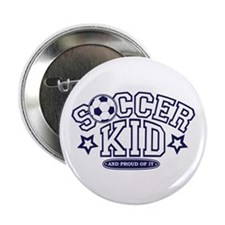 "Soccer Kid 2.25"" Button"