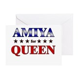 AMIYA for queen Greeting Card