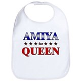 AMIYA for queen Bib