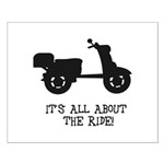 It's All About The Ride Small Poster