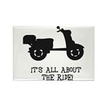 It's All About The Ride Rectangle Magnet (100 pack