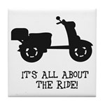 It's All About The Ride Tile Coaster