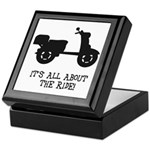 It's All About The Ride Keepsake Box