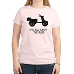 It's All About The Ride Women's Light T-Shirt