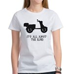 It's All About The Ride Women's T-Shirt