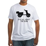 It's All About The Ride Fitted T-Shirt