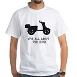 It's All About The Ride White T-Shirt