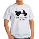 It's All About The Ride Light T-Shirt