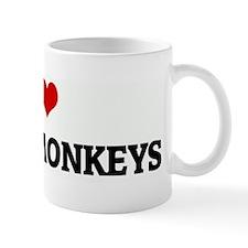 I Love SPIDER MONKEYS Mug