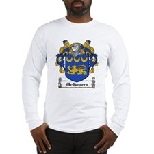 McGovern Family Crest Long Sleeve T-Shirt
