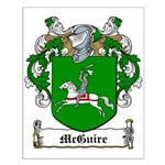 McGuire Family Crest Small Poster