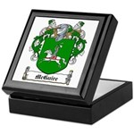 McGuire Family Crest Keepsake Box