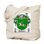 McGuire Family Crest Tote Bag