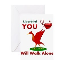 Liverpool FC Greeting Card