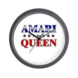 AMARI for queen Wall Clock
