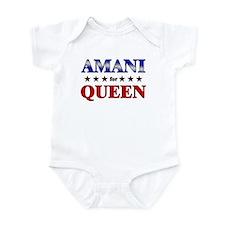 AMANI for queen Infant Bodysuit