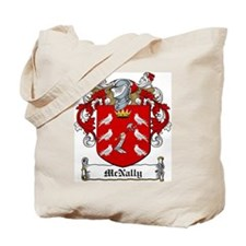 McNally Family Crest Tote Bag
