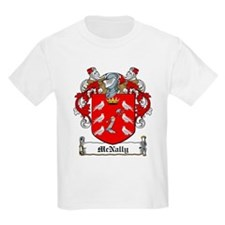 McNally Family Crest Kids T-Shirt