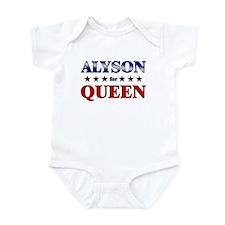 ALYSON for queen Infant Bodysuit