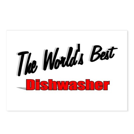"""The World's Best Dishwasher"" Postcards (Package o"