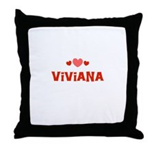 Viviana Throw Pillow
