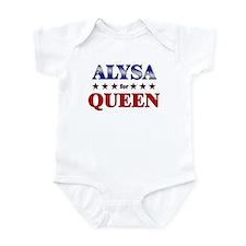 ALYSA for queen Onesie
