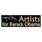 Artists for Barack Obama bumpersticker