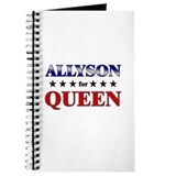ALLYSON for queen Journal