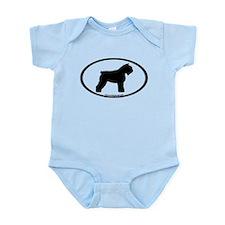 Bouvier Oval Infant Bodysuit