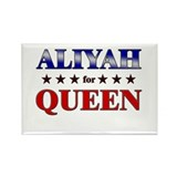 ALIYAH for queen Rectangle Magnet (10 pack)